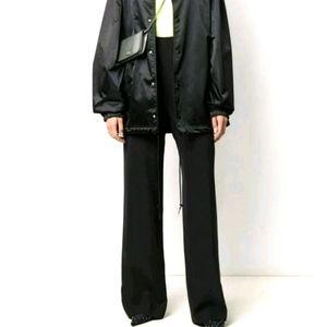 Balenciaga Paris Wool cuffed slacks